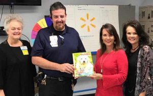 Walmart Associates Donate Coloring Books to George Regional Health System