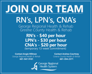 We are now hiring RN's, LPN's, and CNA's