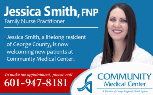 GRHS Welcomes Jessica Smith, FNP